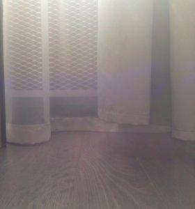 Подшив штор и тюли