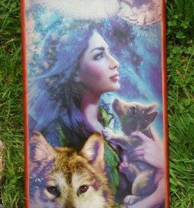 Нарды Девушка с волчонком