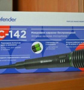 Микрофон беспроводной новый