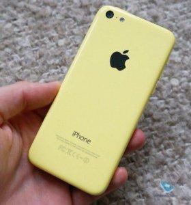 Apple iPhone 5С16GB LTE 4G ос iOS +чехлы торг