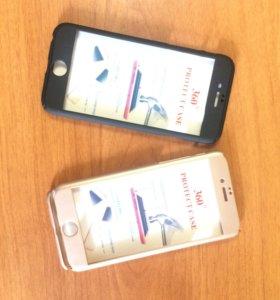 Передняя и задняя броня на iPhone 6-6s