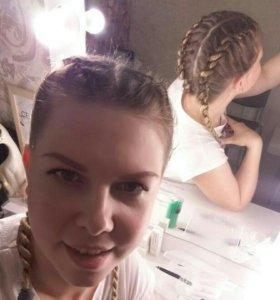 Плетение кос любой сложности,с выездом на дом!!!