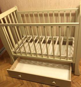Кроватка детская Лаванда Кубаньлесстрой