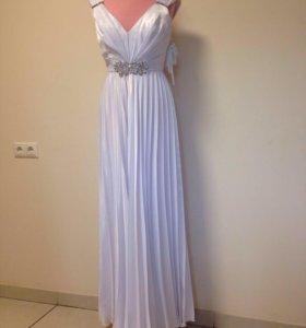 Платье свадебное в греческом стиле новое