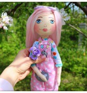 Авторская кукла. Интерьерная игрушка.