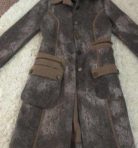 Пальто Вalizza Натуральная шерсть. Новое