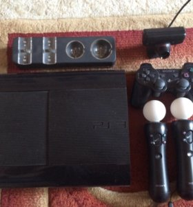 Play Station 3 + move device