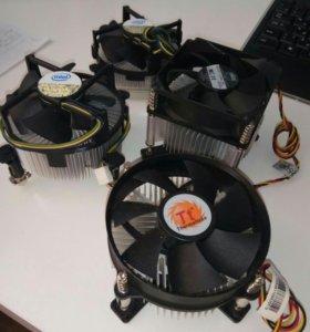 Кулер с радиатором для процессоров Intel сокет 775
