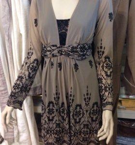 Платье, размер L( по факту 44-46, рост до 168)