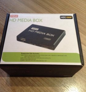 Медиаплеер HD MEDIA BOX mini