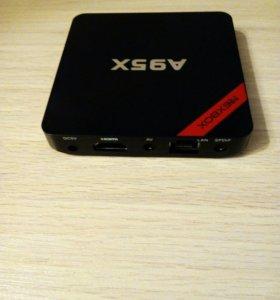 NEXBOX A95X, ТВ смарт приставка на 6 андроиде