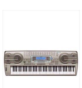 синтезатор саsio wk-3300