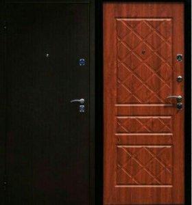 НОВЫЕ стальные двери  ЭКО