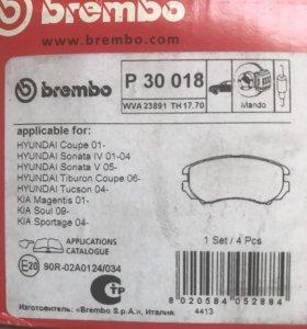 Колодки Brembo Hyundai kia