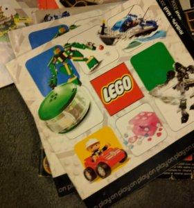 Каталоги и инструкции lego