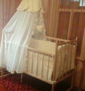 Продается детская кроватка...