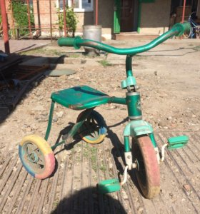 3-х колесный детский велосипед.