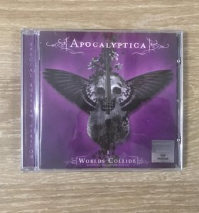 Apocalyptica Worlds Collide CD Rus Special