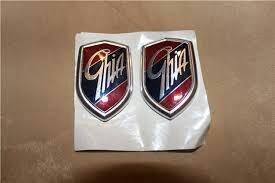 Шильдики, значки Ghia для форд