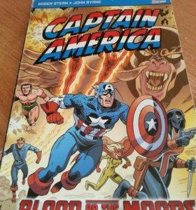 Покет-бук комикс Капитан америка