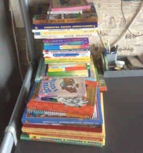 Детские книги 55 штук