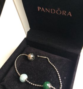 Браслет PANDORA серия ESSENCE COLLECTION с шармами