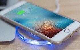 Беспроводная индукционная зарядка для IPhone/ Andr