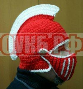 Шапка шлем Спартак