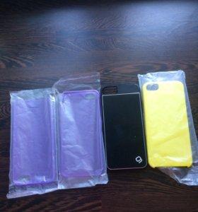 Чехлы на IPhone 5,5S