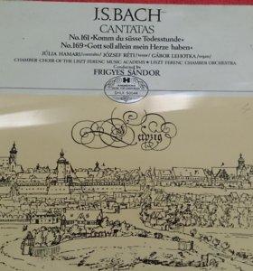 Пластинка J.S. BACH