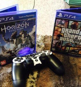 GTA 5 & Horizon , Ps4 , PlayStation 4