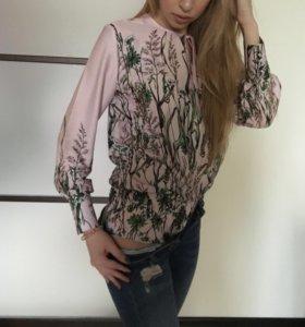 Боди рубашка блузка