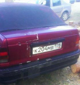 Opel kadett cabriolet bertone