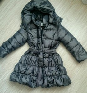 Куртка пальто - пуховик