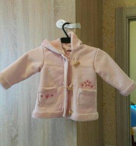 Курточка на девочку 80-86 размер