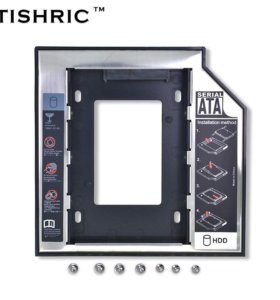 Оптибей.CD DVD на SSD HDD диск.12.7 мм.Sata 3