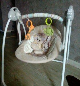Качели Baby Care Riva