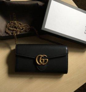 Gucci клатч сумка