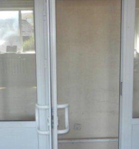 Дверь пластиковая входная
