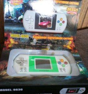 Игровая приставка карманная типа Dendy Sega