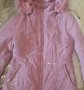 Куртка-пуховик Aobeishilan розовая