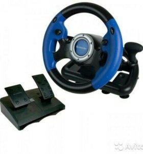 Игровой руль Defender MX-V9