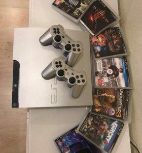 Sony PlayStation 3 320ГБ+игры