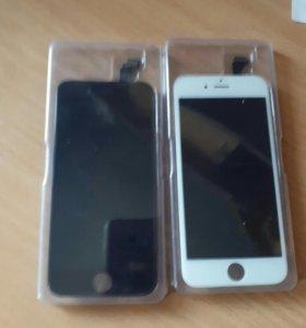 Дисплей lcd iphone 6, белые и черные