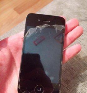Продаю айфон 4s 8 gb или обмен  на айфон 5
