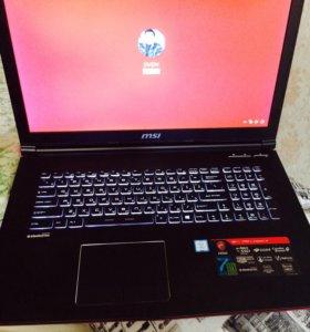 Продам ноутбук Msi новый в отличном состоянии,