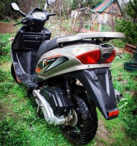 Макси-скутер АВМ Volcan 150 (ХТС)