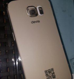 Чехол для Samsung Galaxy S6 smoky black