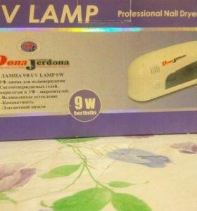 Уф лампа для ногтей, гель-лака, шеллак, гельотина