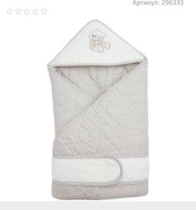 Конверт-одеяло на выписку + 🎁